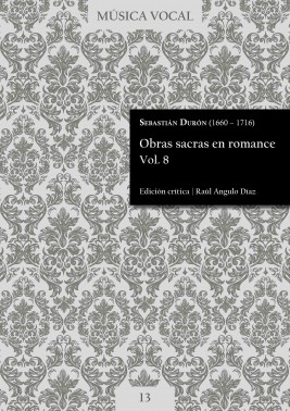 Durón | Sacred works in Romance language Vol. 8