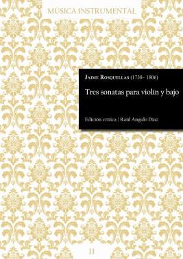 Rosquellas | Tres sonatas para violín y bajo