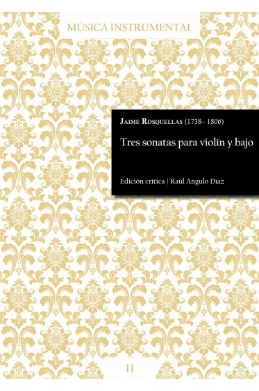 Rosquellas | Three violin sonatas
