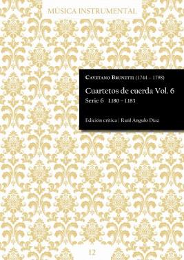 Brunetti | String quartets Vol. 6