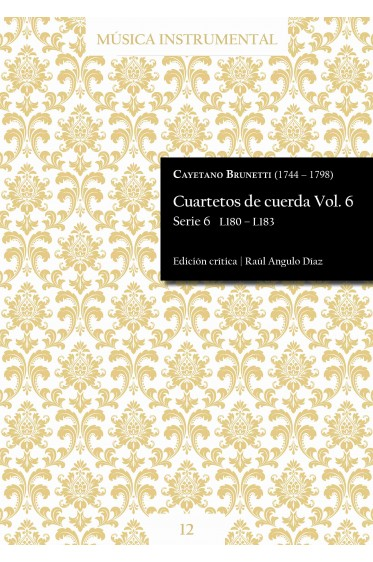 Brunetti | String quartets Vol. 6
