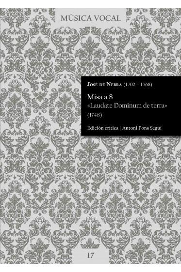 Nebra | Mass «Laudate Dominum de terra»
