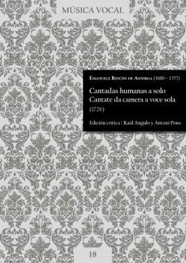 Rincon de Astorga | Cantadas humanas. Cantate da camera