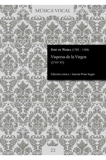 Nebra | Vespers of the Virgin (1749-50)