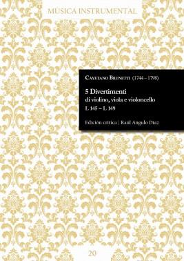 Brunetti | 5 Divertimenti di violino, viola e violoncello