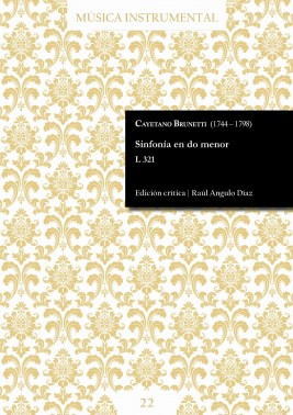 Brunetti | Sinfonía en do menor L 321