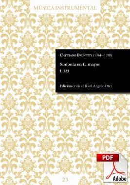 Brunetti | Sinfonía en fa mayor L 323 DIGITAL