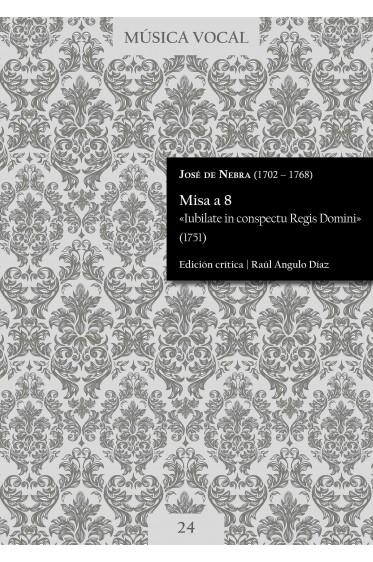 Nebra | Mass «Iubilate in conspectu Regis Domini»