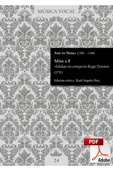 Nebra | Mass «Iubilate in conspectu Regis Domini» DIGITAL