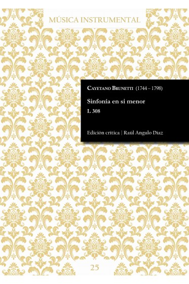 Brunetti | Sinfonía en si menor L 308