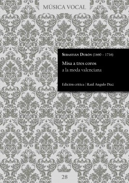 Durón | Misa a tres coros a la moda valenciana