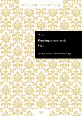 Fandangos para tecla Vol. 1