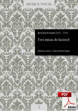 Literes | Tres misas de facistol DIGITAL