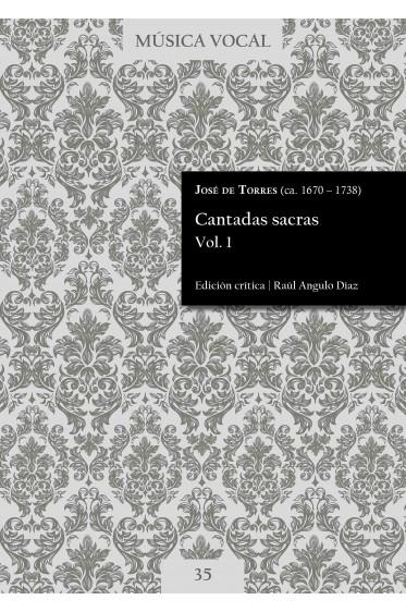 Torres | Sacred cantatas Vol. 1