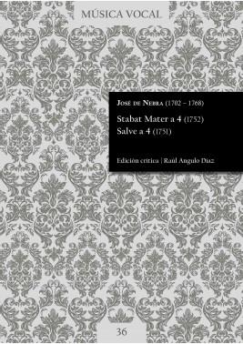 Nebra | Stabat Mater a 4 (1752). Salve a 4 (1751)