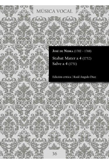 Nebra   Stabat Mater a 4 (1752). Salve a 4 (1751)