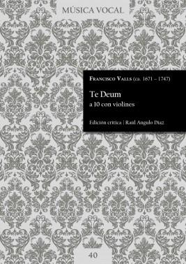 Valls | Te Deum a 10 con violines