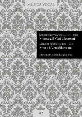 Vivanco, Pontac  Motete y Misa Veni dilecte mi