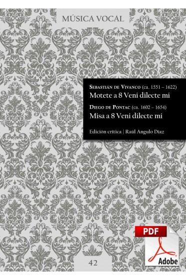 Vivanco, Pontac| Motet and Mass Veni dilecte mi