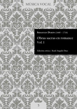 Durón | Sacred works in Romance language Vol. 1