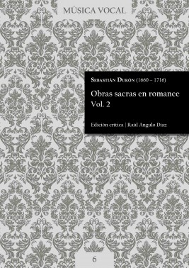 Durón | Sacred works in Romance language Vol. 2