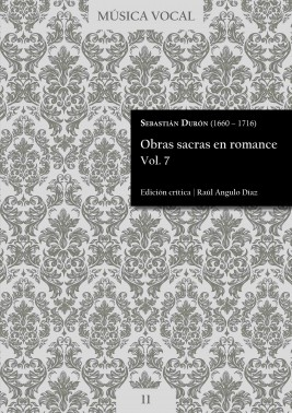 Durón | Obras sacras en romance Vol. 7