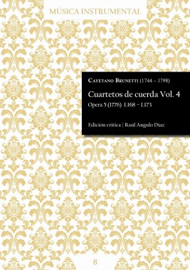 Brunetti | String quartets Vol. 4