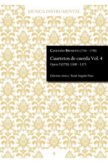 Brunetti | Cuartetos de cuerda Vol. 4