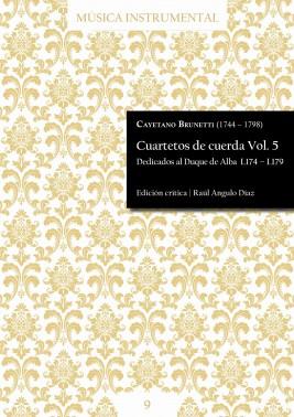 Brunetti | Cuartetos de cuerda Vol. 5