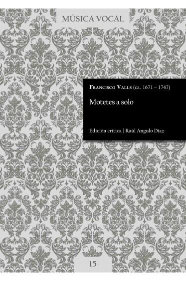 Valls | Motetes a solo