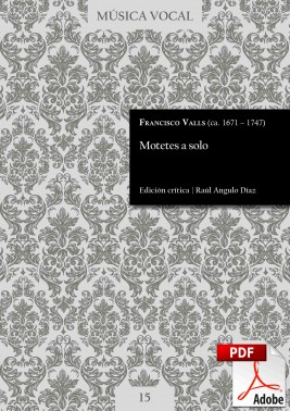 Valls | Motets for one voice DIGITAL