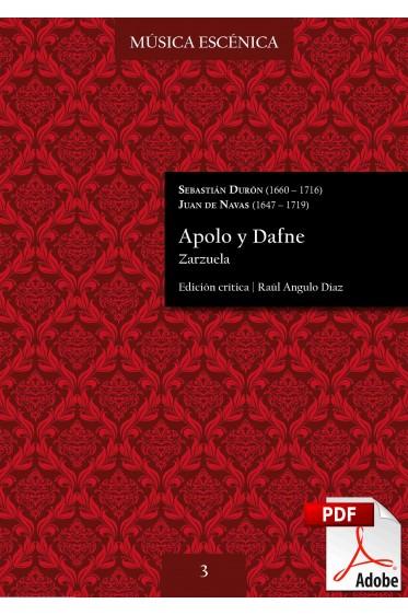 Durón, Navas | Apolo y Dafne DIGITAL