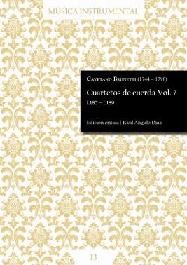 Brunetti | String quartets Vol. 7