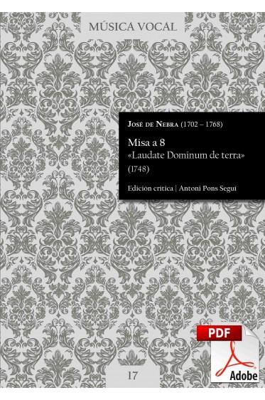 Nebra | Misa «Laudate Dominum de terra» DIGITAL
