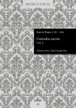 Nebra | Cantadas sacras Vol. 2