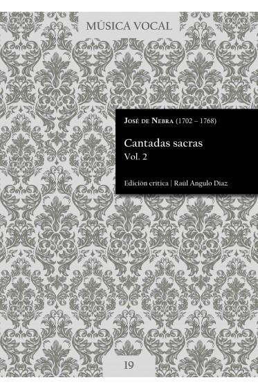 Nebra   Cantadas sacras Vol. 2