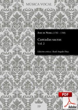 Nebra | Sacred cantatas Vol. 2 DIGITAL