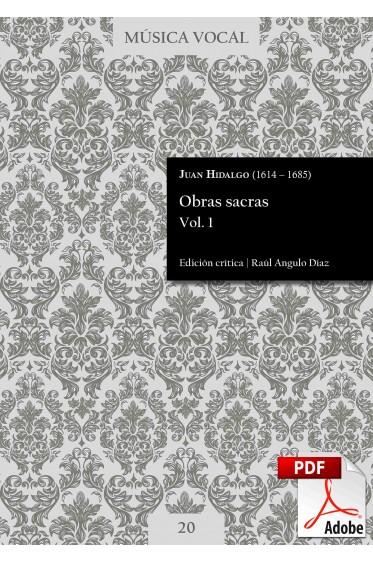 Hidalgo | Obras sacras Vol. 1 DIGITAL
