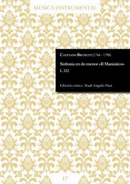 Brunetti | Symphony in c minor «Il Maniatico»