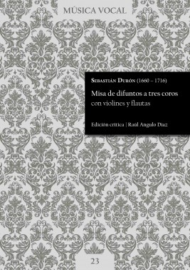Durón | Misa de difuntos a tres coros con violines y flautas