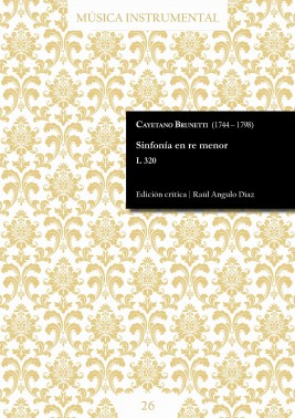 Brunetti | Sinfonía en re menor L 320