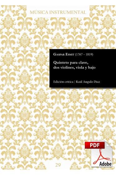 Esmit | Harpsichord quintet DIGITAL