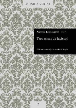 Literes | Tres misas de facistol