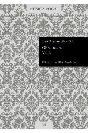 Hidalgo | Obras sacras Vol. 3