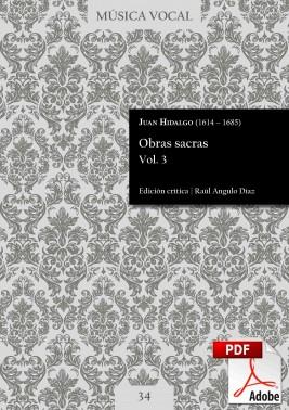 Hidalgo | Sacred works Vol. 3 DIGITAL