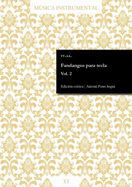 Fandangos for keyboard Vol. 2