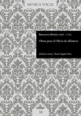 Durón | Obras para el oficio de difuntos