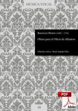 Durón | Obras para el oficio de difuntos DIGITAL
