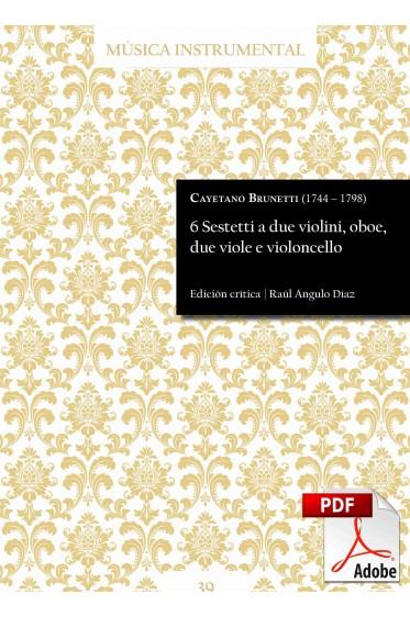 Brunetti | 6 Sestetti a due violini, oboe, due viole e violoncello