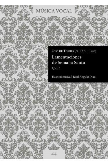 Torres   Lamentaciones de Semana Santa Vol. 1
